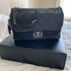 CHANEL Bags - Black Chanel Flap Bag